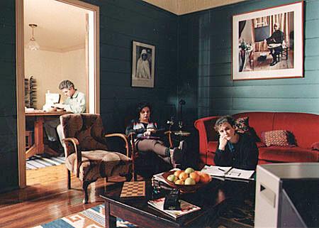 Anne Zahalka Wednesday, 8:40pm, 1995; duratran, lightbox; 120 x 172 x 20 cm; enquire