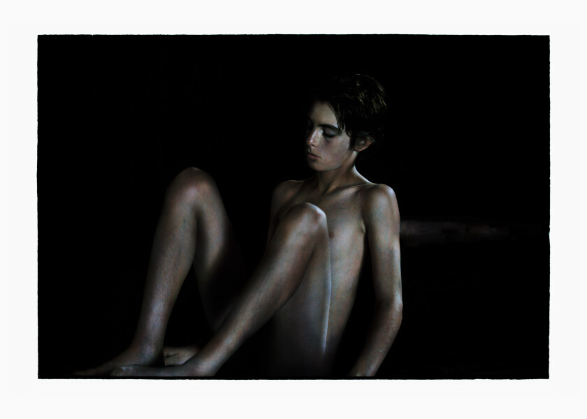 Bill Henson Untitled, 2011-12; LS SH38 N29; archival inkjet pigment print; 127 x 180 cm; enquire