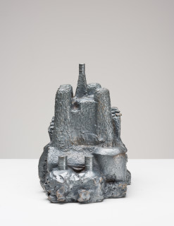 Fiona Hall Castles of Lost Destinies, 2015; Cat no. 13; Bronze; 24 x 22 x 17 cm; enquire