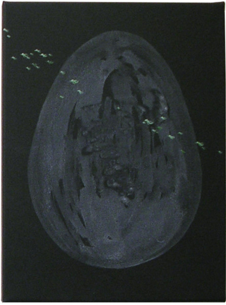 Nell 31st Year, 2005; acrylic on canvas; 40.5 x 30.3 cm; enquire