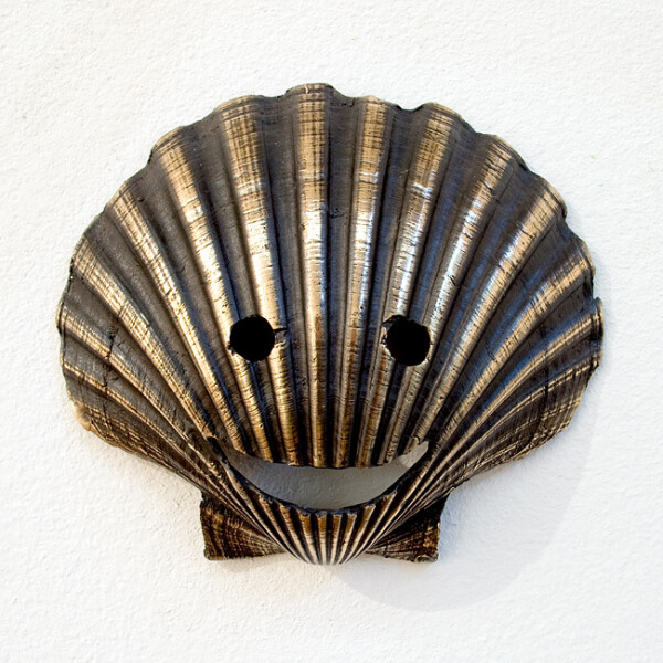Nell The way of saint shell, 2009; Bronze; 10.5 x 12 x 3 cm; Edition of 5 + AP 2; enquire