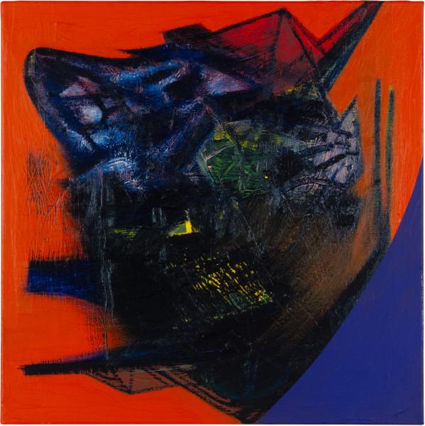 Gareth Sansom Animal Farm (George Orwell), 2012; oil and enamel on linen; 60 x 60 cm; enquire