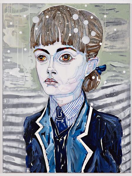 Del Kathryn Barton Arella, 2014; Acrylic & Oil on French Linen; 82 x 61 cm; enquire