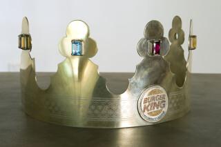 Hany Armanious Adzeena Persius (detail), 2010; bronze, gold plated silver, tourmaline, rubelite, blue topaz, garnets, citrine; 278 x 120 x 60 cm; enquire