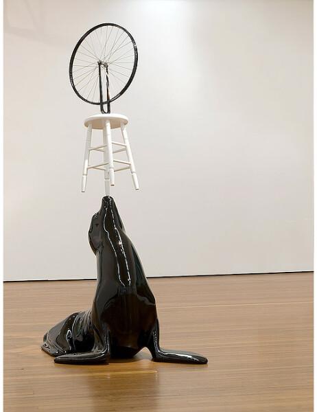 Michael Parekowhai My Sister My Self, 2007; fibreglass, wood, enamel paint; 265 x 150 x 102 cm; Edition of 5; enquire