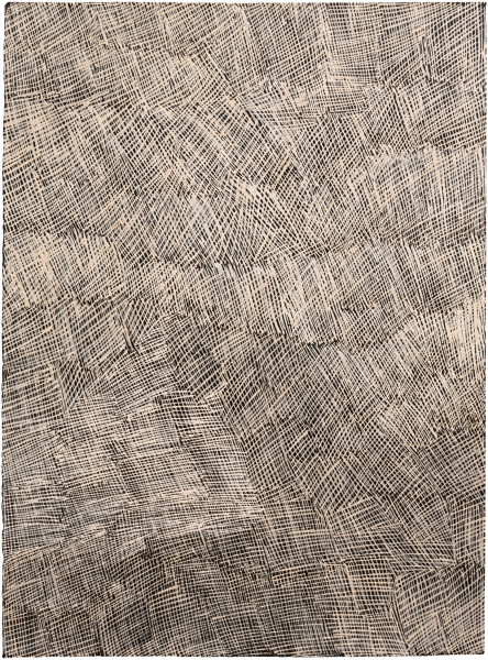 Nyapanyapa Yunupingu Untitled, 2016; 2484-16; earth pigments on paper; 76 x 57 cm; enquire