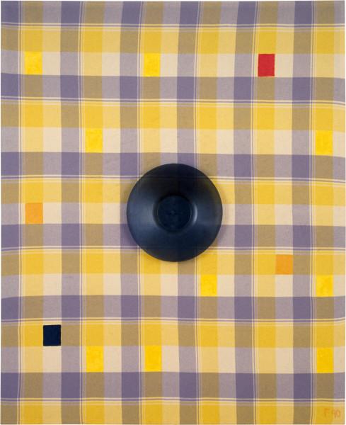 Dale Frank The spiteful tuffet's palet, 1984; acrylic on canvas; 125 x 175 cm; enquire