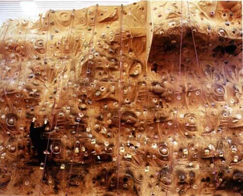 Anne Zahalka The Ledge, Rock Climbing Gym, 1999; type C photograph; 115 x 145 cm; Edition of 12; enquire