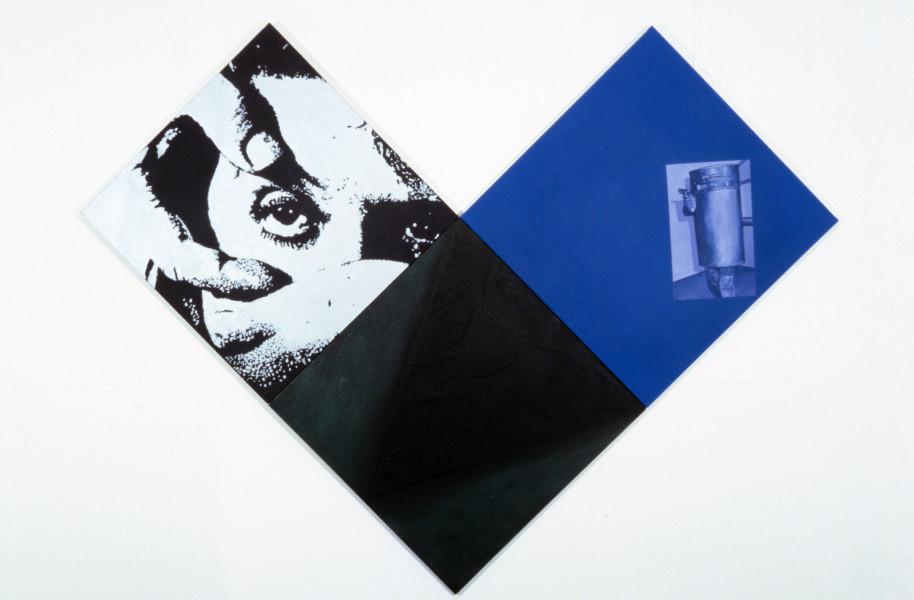 Merilyn Fairskye Conducting Bodies/K, 1988; oil on canvas; each panel 91 x 91cm; enquire