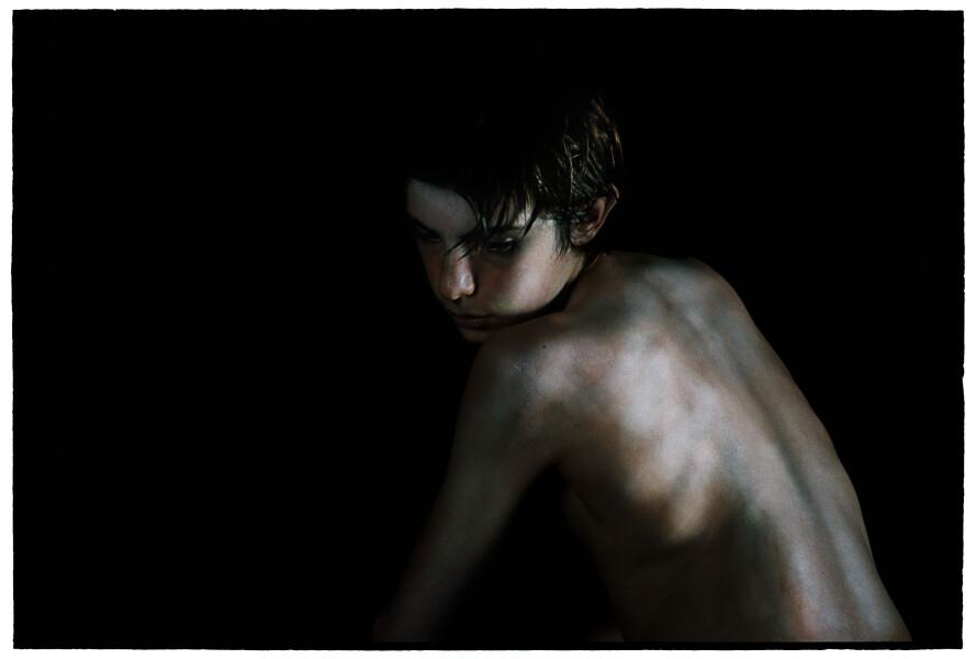 Bill Henson Untitled #16, 2011-12; LS SH157 N3B ; archival inkjet pigment print; 127 x 180 cm; Edition of 5 + AP 2; enquire