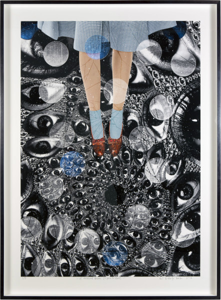Del Kathryn Barton of childhood dreams (a place to stand), 2014; archival pigment ink on rag; 130 x 92 cm; Edition of 5; enquire