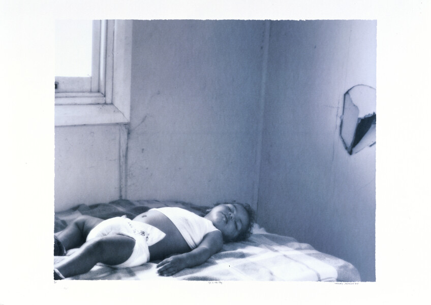 Tracey Moffatt Up In The Sky  # 20, 1997; off set print; 61 x 76 cm; 72 x 102  paper size; Edition of 60 + AP 8; enquire