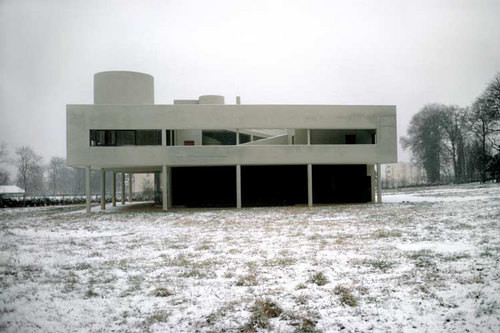 Harry Seidler Poissy, Villa Savoie (exterior), 1970; from the series Architect: Le Corbusier, completed 1929; 71 x 106.5 cm (image size) 95.5 x 125 cm (frame size) edition of 6; enquire