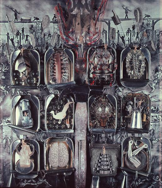 Fiona Hall Pride, Seven Deadly Sins, 1985; Polaroid photograph; 61 x 50.8 cm; enquire