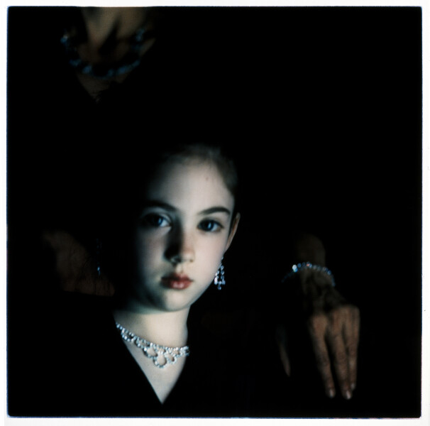 Bill Henson Untitled 2/1, 1990-91; from the series Paris Opera Project; type C photograph; 127 x 127 cm; series of 50; Edition of 10 + AP 2; enquire