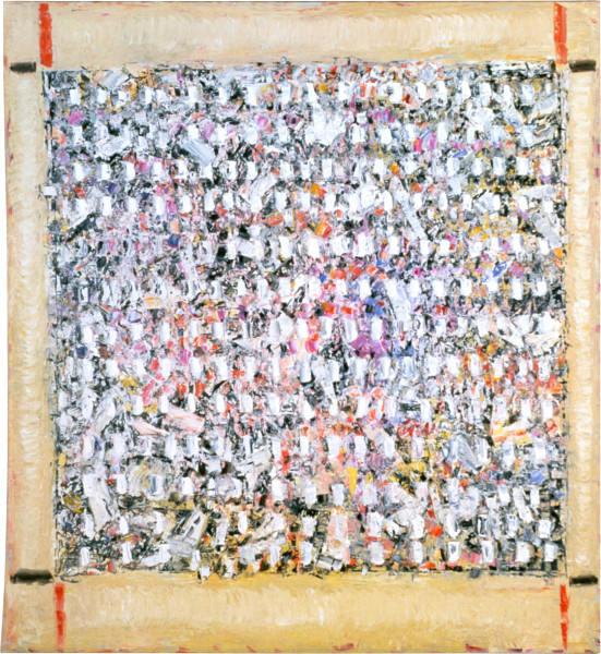 Paul Partos Calendar Painting, 1986; oil on canvas; 210 x 180 cm; enquire