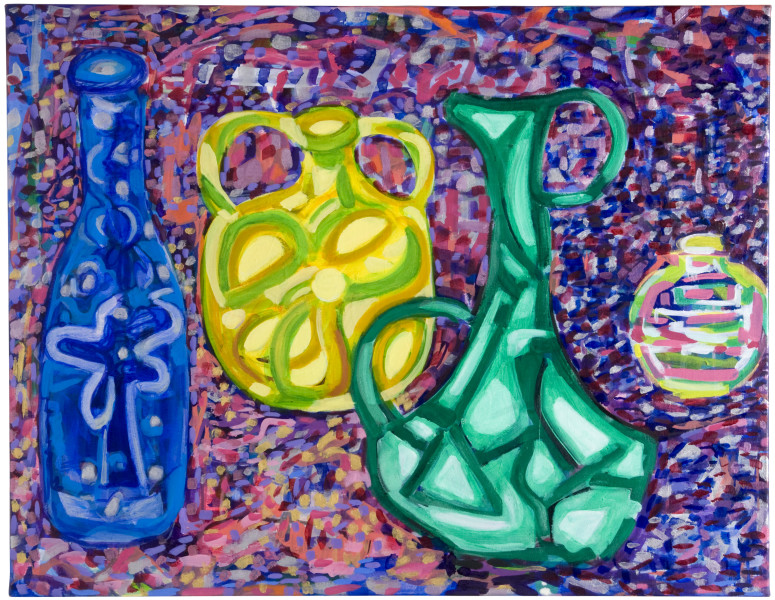 Angela Brennan Still life with four things, 2009; oil on linen; 71 x 91 cm; enquire