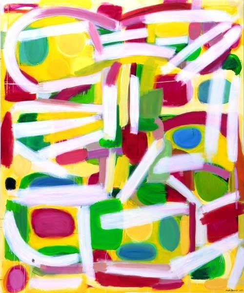 Angela Brennan Between Three Oceans, 2001-02; Oil on linen; 198.5 x 168 cm; enquire