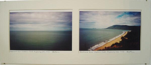 Destiny Deacon Postcard from Captain Cook Highway (A) (B), 1998; 2 colour laser prints; 21 x 29.7 cm; Edition of 15; enquire