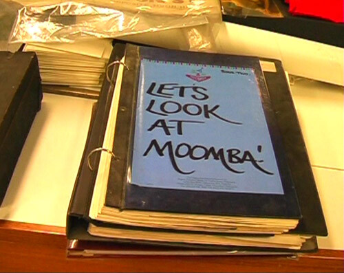 Destiny Deacon Let's Look at Moomba, 2004; DVD; 5:19 minutes, silent; Edition of 15; enquire