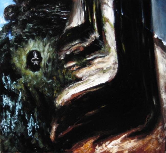Louise Hearman Untitled #1089, 2005; oil on masonite; 53 x 57 cm; enquire