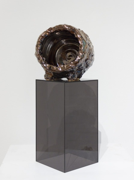Mikala Dwyer The things in things, 2012; found objects, ceramic, glaze, epoxy filler; 16.5 x 15.5 x 13 cm; enquire