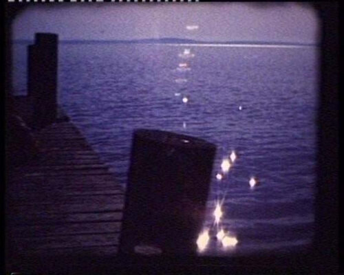Tracey Emin HOMAGE TO EDVARD MUNCH AND ALL MY DEAD CHILDREN (detail), 1998; Single screen projection and sound, shot on Super 8, transferred to DVD; Duration: 1 minute, Edition 3/10; enquire