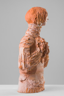 Linda Marrinon Gerry Humphrys 1966, 2019; terracotta; 55 x 28 x 18 cm; enquire