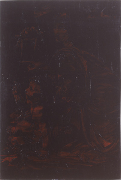 Lindy Lee To The Limits of Beauty, 1991; oils and wax on canvas; 181 x 122 cm; enquire