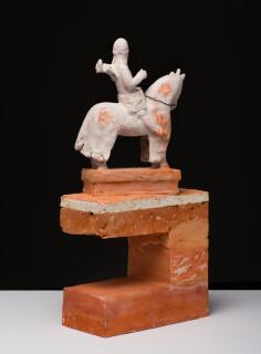 Linda Marrinon Scarpa at Verona, 2018; terracotta and plaster; 44 x 21 x 11 cm; enquire