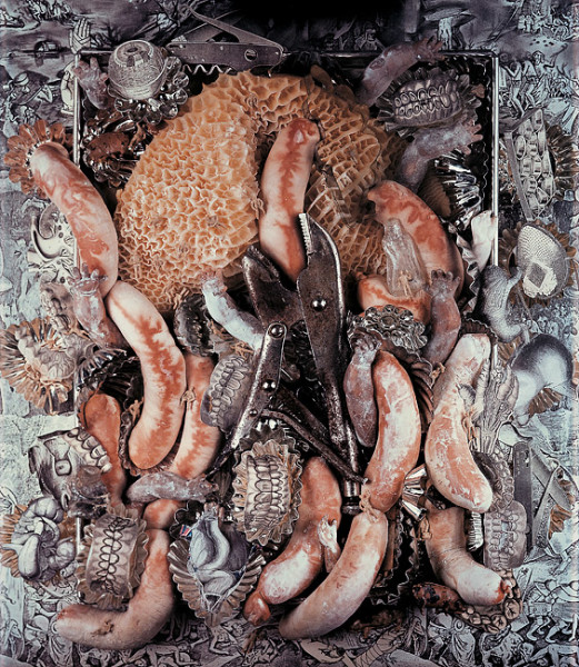 Fiona Hall Glutony, Seven Deadly Sins, 1985; Polaroid photograph; 61 x 50.8 cm; enquire