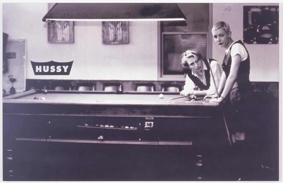 Kaye Shumack Hussy 1, 1994; digital electrostatic print; 90 x 140 cm; enquire