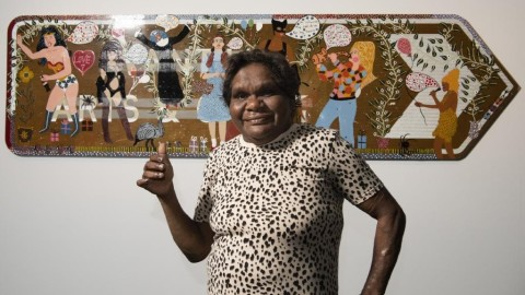 Kaylene Whiskey | 2019 Winner of the Telstra National Aboriginal and Torres Strait Islander Art Award 2019