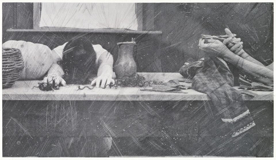 Tracey Moffatt Laudanum #9, 1998; Toned photogravure print on rag paper; 76 x 57 cm; Edition of 60 + AP 9; enquire