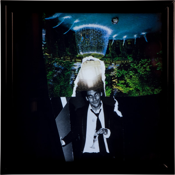 Jacqueline Fraser 'THE MAKING OF LA DOLCE VITA 2011', 2011; LED Light Box; 35 x 35 x 9.5 cm; enquire