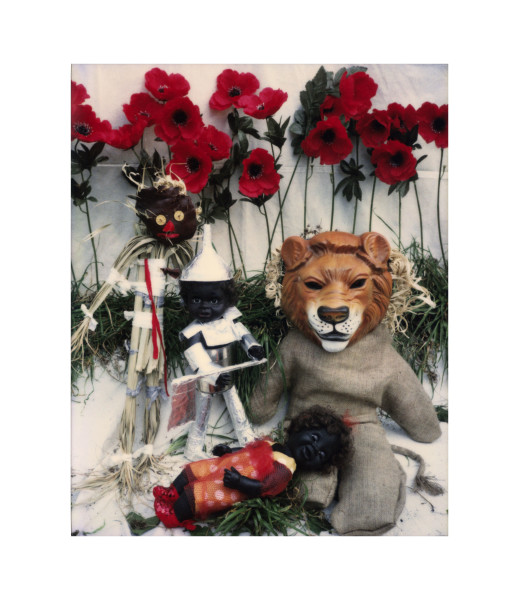 Destiny Deacon Oz Games - Under the spell of the tall poppies, 1998-03; light jet print from Polaroid original; 100 x 80 cm; Edition of 15; enquire