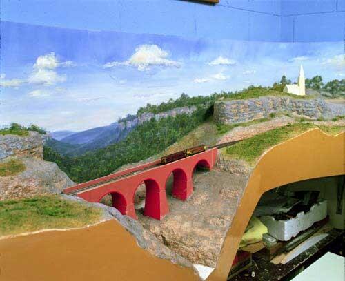 Anne Zahalka Model Railway, 1998; type C photograph; 115 x 145 cm; Edition of 12; enquire