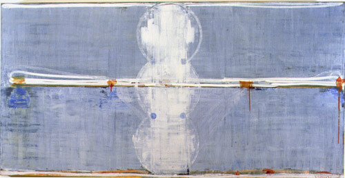 John Firth-Smith Mirage, 2001; Oil on linen; 4 ft x 8 ft; enquire