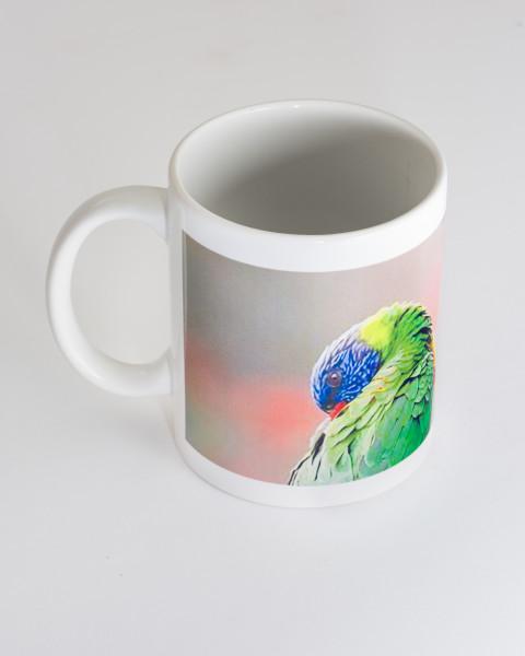 Mikala Dwyer Bird Mug 2, 2021; ceramic; Edition of 10; enquire