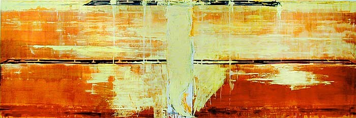 John Firth-Smith Nevermore, 2003; oil on linen; 5 x 15ft; enquire