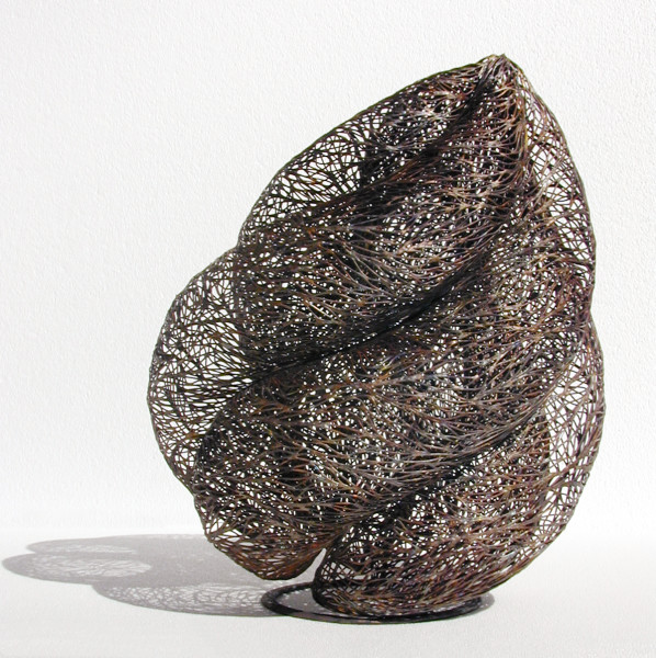 Bronwyn Oliver Volute, 2002; copper; 38 x 30 x 30 cm; enquire