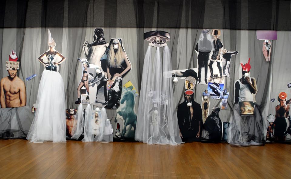Jacqueline Fraser MAGIQUE/Area 51, 2008; backlit photographs and mixed media; 380 x 1270 cm; enquire