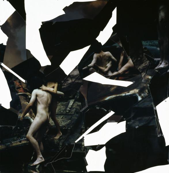 Bill Henson Untitled, 1994; type C photograph, adhesive tape, pins, glassine; 250 x 244.4 cm; enquire