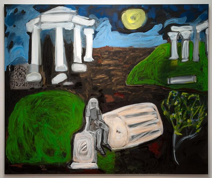 Angela Brennan Fate, 2010; Oil on linen; 150 x 180 cm; enquire