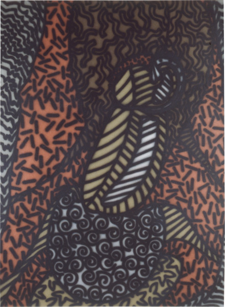 Howard Arkley Penis, 1984; synthetic polymer on canvas; 110 x 150 cm; enquire