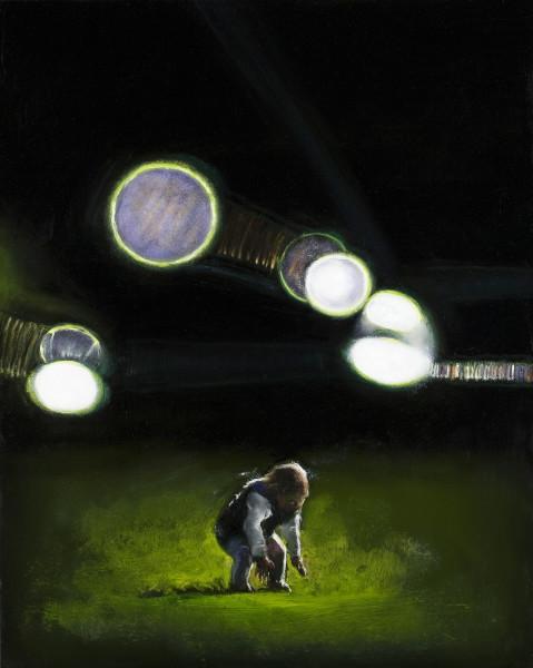 Louise Hearman Untitled #1335, 2011; Oil on masonite; 65 x 52 cm; enquire