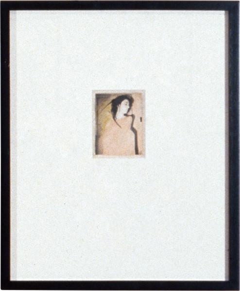 Robert Mapplethorpe Patti Smith, 1973; Polaroid; 11 x 8.5 cm; enquire