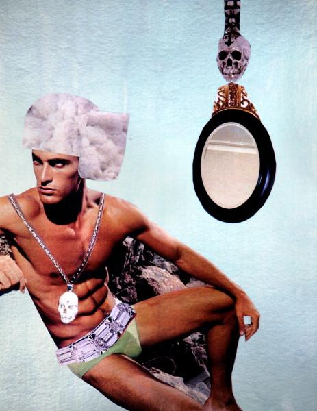 "Jacqueline Fraser ""GORGEOUS"", 2007; 100 x 100 cm (framed); enquire"