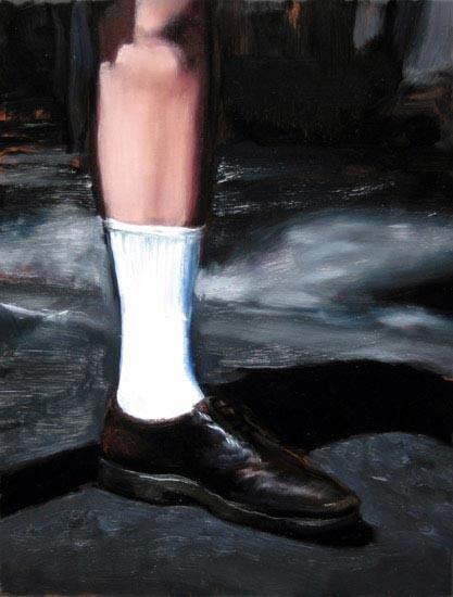 Louise Hearman Untitled #1082, 2005; oil on masonite; 48 x 37 cm; enquire