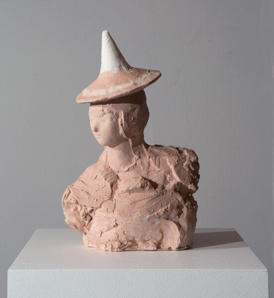Linda Marrinon Greek, 2016; plaster; 38 x 26 x 11 cm; enquire